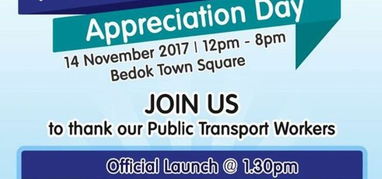 Public Transport Workers' Appreciation Day Nov 2017