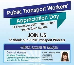 Public Transport Workers' Appreciation Day Nov 2017