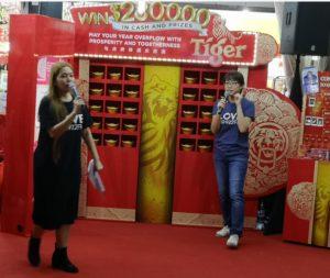 Tiger Beer Huat Roadshow on 19 Jan 2019