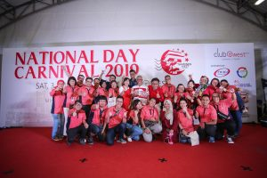 Tampines West National Day Carnival on 3 August 2019